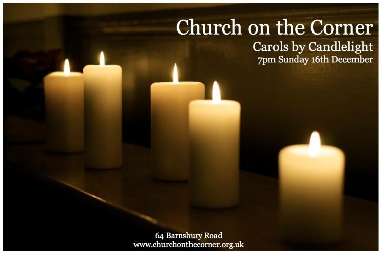 Carol Service invitation 2012