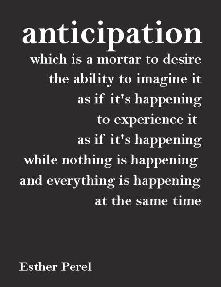Esther Perel - Anticipation
