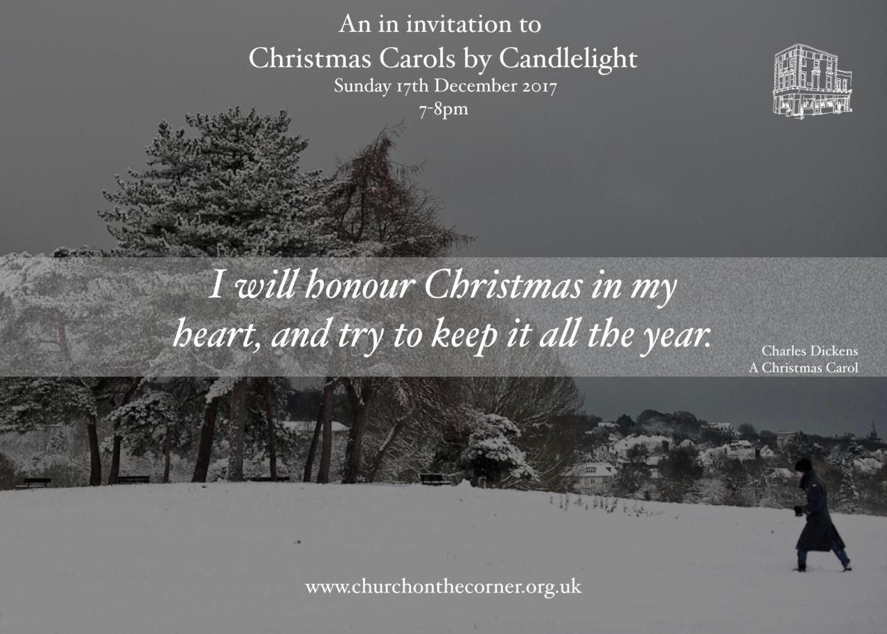 Carol Service Invitation 2017